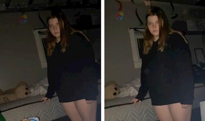 VIDEO Djevojka se probudila u 3 ujutro pa prestrašeno snimala sestru koja je mjesečarila