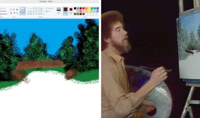 Crtala je u Paintu dok je pratila upute poznatog slikara, rezultat ju je iznenadio