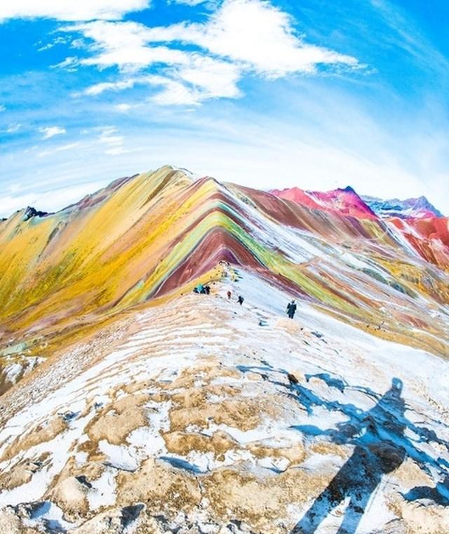 Šarena planina u Peruu