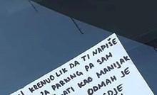 Na vjetrobranskom staklu je našao poruku i saznao kako je izbjegao plaćanje kazne