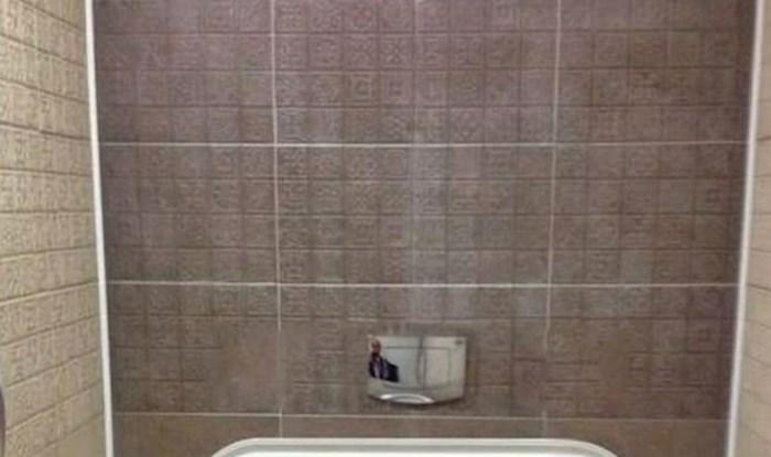 Svi misle da je ovo montaža: Pogledajte kakav je WC netko navodno slikao