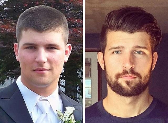 Pogledajte koliko su brada i frizura utjecali na njegov novi izgled!