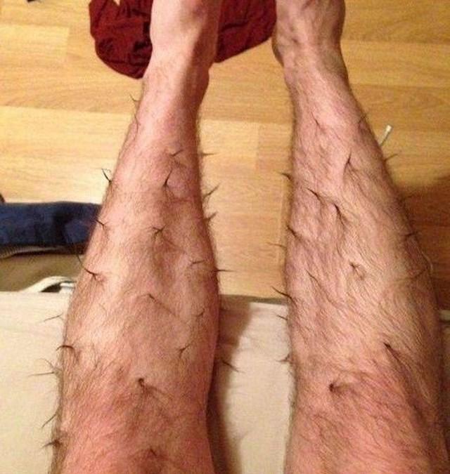 """""""Moj dečko voli raditi frizure na nogama."""""""