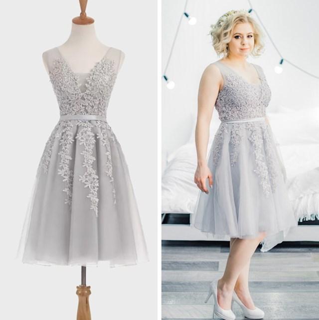"""""""Ovi haljinu sam naručila s AliExpressa, bila je jako jeftina. Mogla sam proći loše, no na kraju je bila savršena."""""""