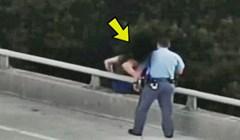 Depresivni čovjek se htio baciti s mosta, a onda je policajcu uspjelo nemoguće