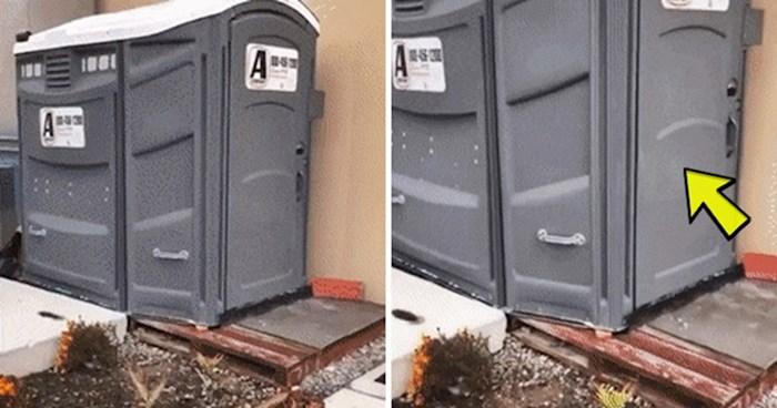 Lik je krenuo u WC kabinu, unutra ga je dočekalo nešto što nikako nije očekivao