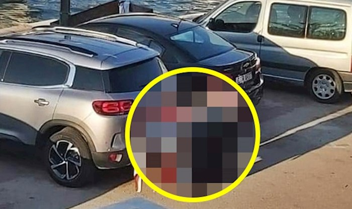 Turisti su primijetili nešto čudno vani, pogledajte što je netko ostavio ispred auta
