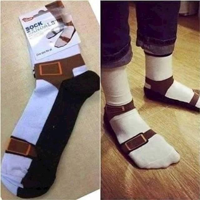 A ovo je savršen poklon za tate koji vole nositi sandale.