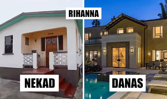 Pogledajte u kakvim su kućama poznate osobe živjele prije svjetske slave, a u kakvima žive danas