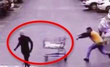VIDEO Kupac je postao heroj nakon što je na genijalan način zaustavio lopova