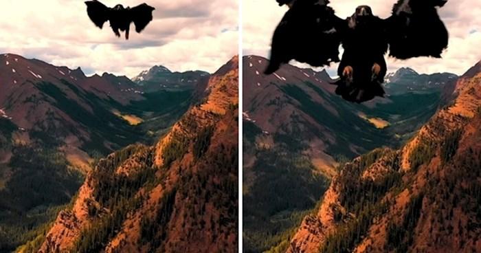 VIDEO Dronom je snimao prekrasnu prirodu, a onda je odjednom shvatio da ima ozbiljan problem