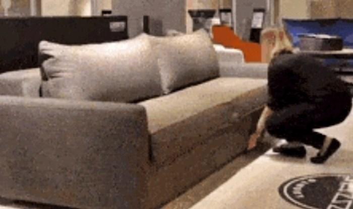 Vlasnicima manjih stanova će se svidjeti ovaj kauč, pogledajte u što se može pretvoriti
