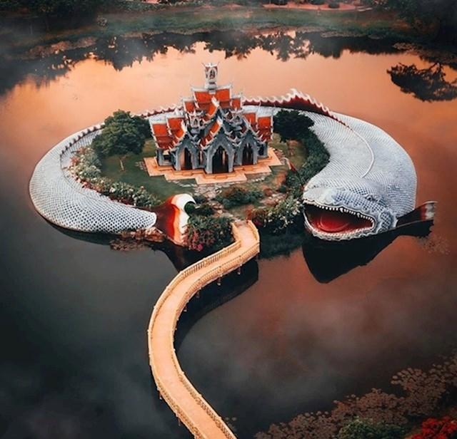 Samut Prakan je drevni grad s građevinama koje oduzimaju dah...