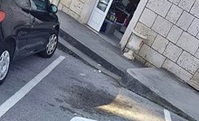 Dubrovčani su se začudili kad su vidjeli kako je netko zauzeo parkirno mjesto