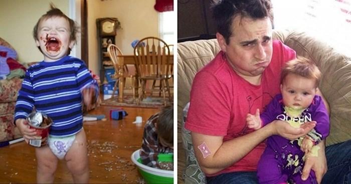 20 kaotičnih slika koje pokazuju da nije lako biti roditelj