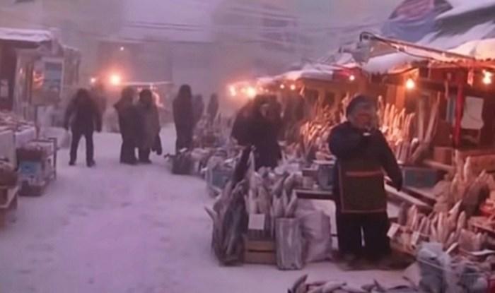 VIDEO Fale vam zimske radosti i snijeg? Pogledajte kako Rusi žive na ledenih -46°C