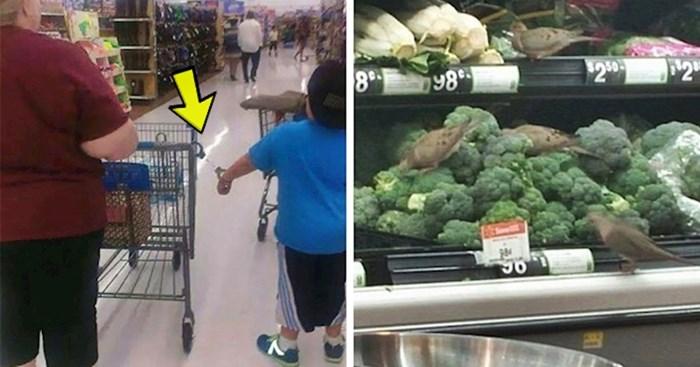 50 ljudi podijelilo je slike najčudnijih prizora koje su vidjeli u supermarketima