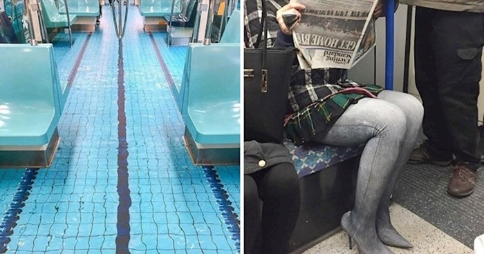 20 bizarnih fotografija koje dokazuju da se u podzemnoj željeznici događaju čudne stvari