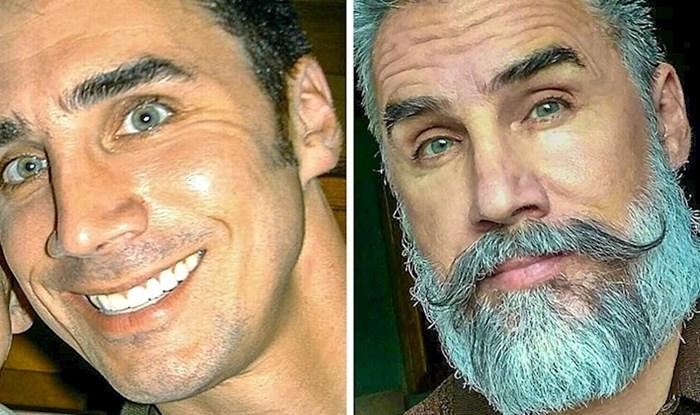 20 iznenađujućih usporedbi koje dokazuju da brada može potpuno promijeniti izgled muškarca