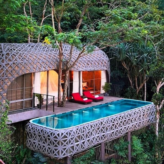 Postoje kućice na drveću u kojima se možete osjećati poput egzotične ptice.