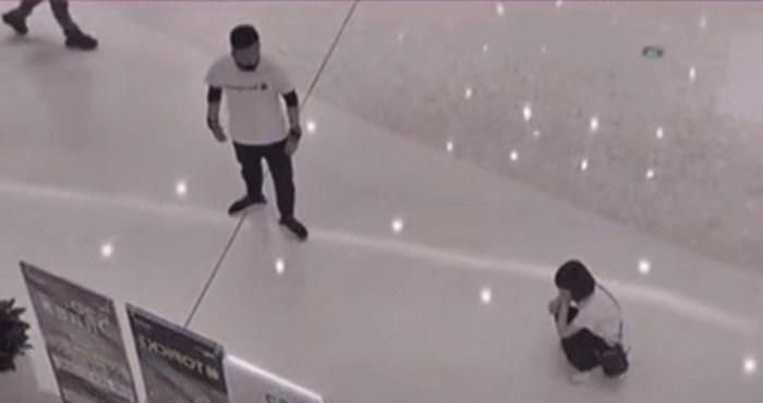 Netko je snimio svađu između muškarca i žene koja je završila na neočekivan način