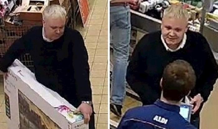Stariji muškarac s osmijehom na licu došao u trgovinu i na nevjerojatan način prevario blagajnika