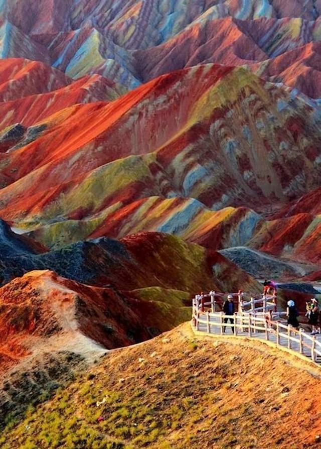 Šarene planine u Kini
