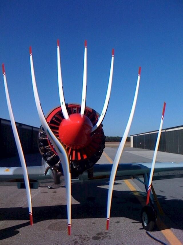 Što se dogodi kad se sinkronizira brzina propelera i brzina okidanja fotke...