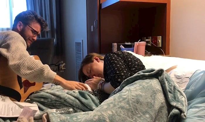 Posljednji pozdrav sa sinom: Mladi par je podijelio najtužnije trenutke u svojim životima i rasplakao tisuće ljudi