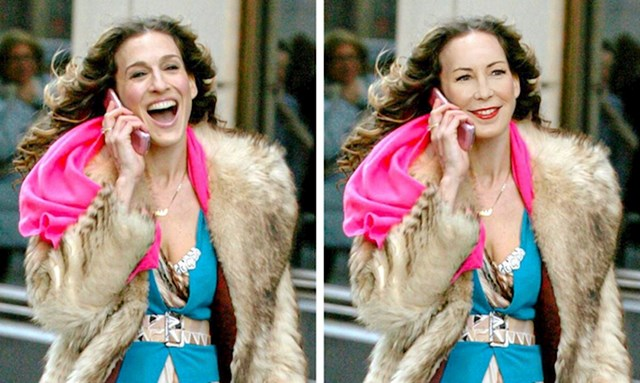 "Dana Delaney kao Carrie Bradshaw iz ""Seks i grad"""