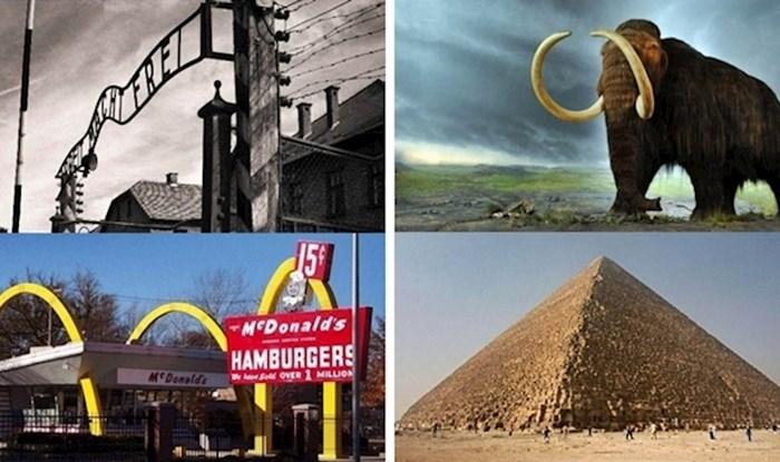 8 povijesnih činjenica o događajima za koje nećete vjerovati da su se odvijali u isto vrijeme