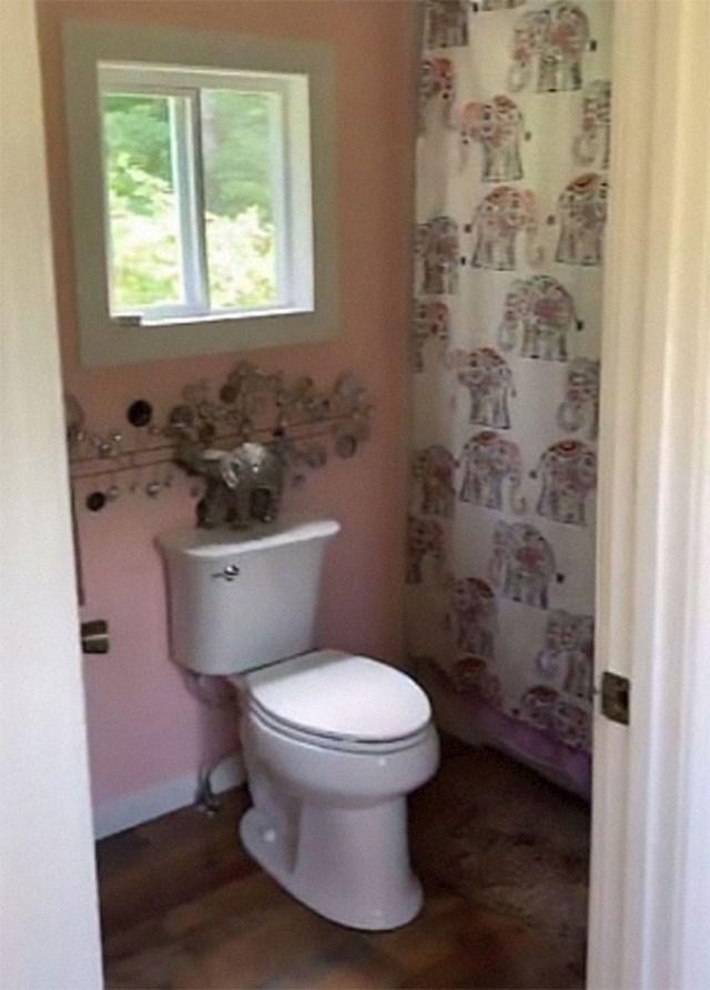Ovako izgleda WC...