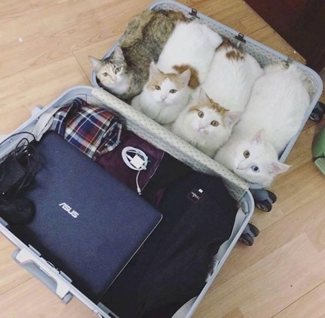 """""""Kad idete na putovanje, ponesite samo ono što vam je zaista potrebno."""""""