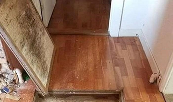 Ova obitelj u kući ima najčudniju stvar ikad, krije se ispod hodnika