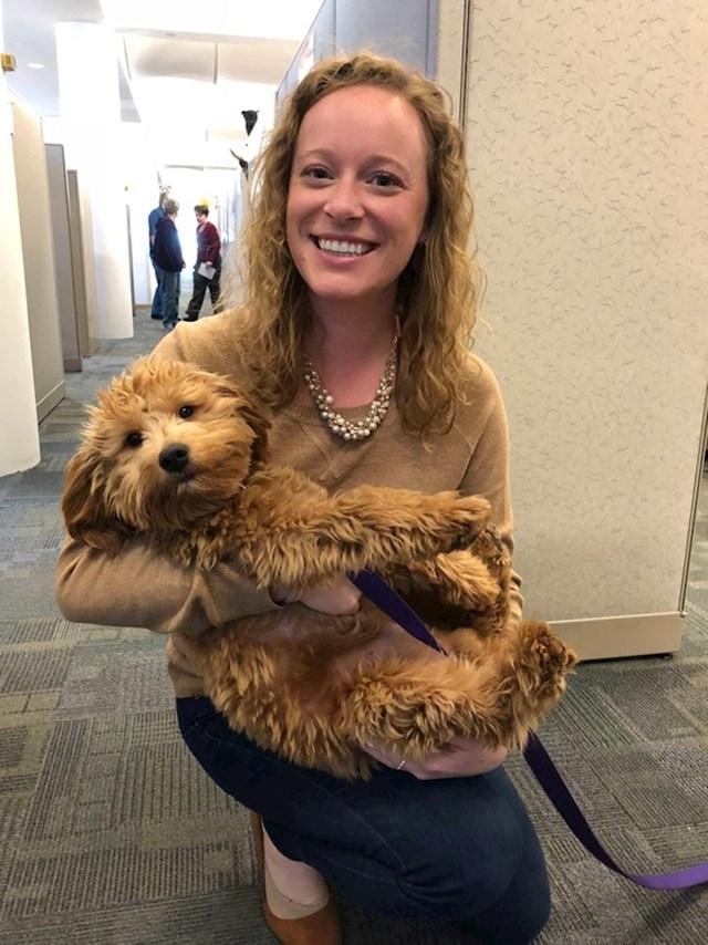 """""""U uredu imamo psa koji nam uljepšava svaki radni dan."""""""