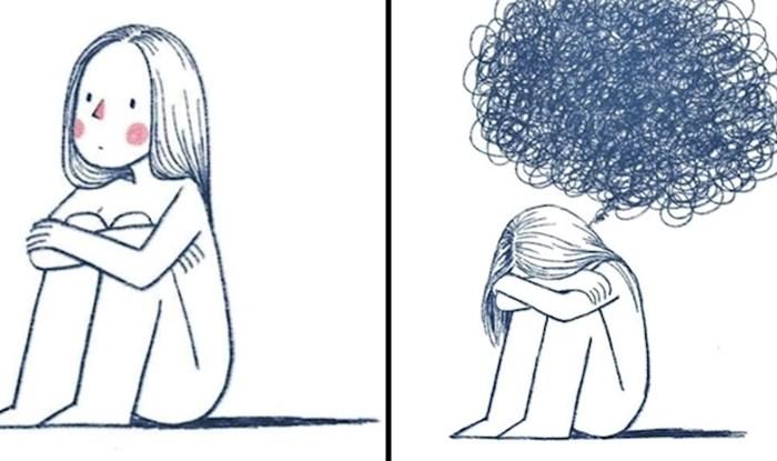 Ovaj simpatični kratki strip pokazuje što najbolje pomaže kad počnemo previše razmišljati o problemima