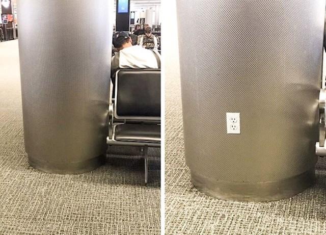 """""""Napravio sam naljepnicu koja izgleda kao utičnica kako bih naživcirao ljude koji na zračnoj luci žele napuniti mobitel."""""""