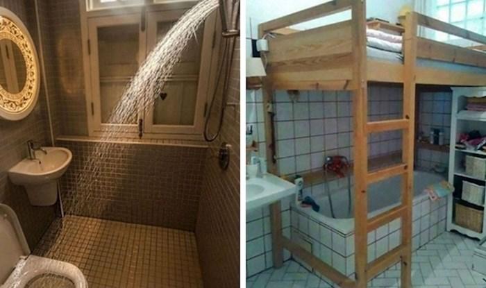 Ljudi dijele slike čudnih kupaonica u kojima nešto definitivno nije u redu