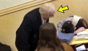 Učenik je snimio najčudniji trenutak u školi ikad: Djevojka je zaspala na satu, evo kako je profesor reagirao