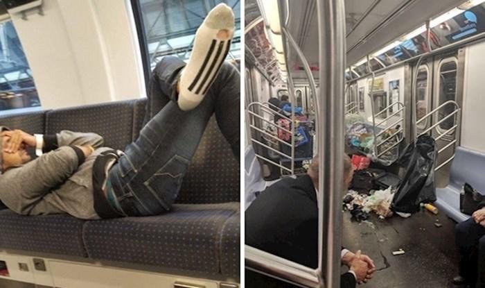 Ljudi objavljuju fotke bezobraznih putnika koji se ne znaju ponašati ni u javnom prijevozu