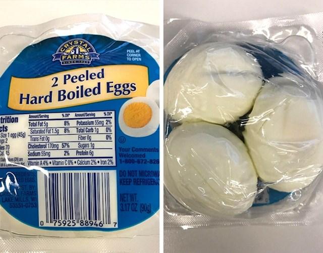 Kupio je 2 kuhana jaja, a dobio 3 komada.