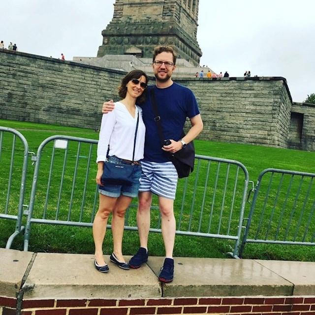 """""""Ovo je trebala biti slika nas i Kipa slobode."""""""