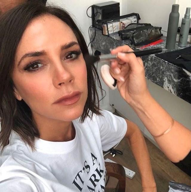 Victoria Beckham - azijska maska za lice s izmetom slavuja