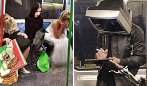 Što se ovdje događalo?! 😲 Najluđi prizori koje su ljudi slikali u javnom prijevozu