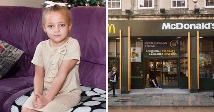Četverogodišnja klinka je u suzama istrčala iz McDonaldsovog WC-a, mama je odmah vidjela nešto uznemirujuće