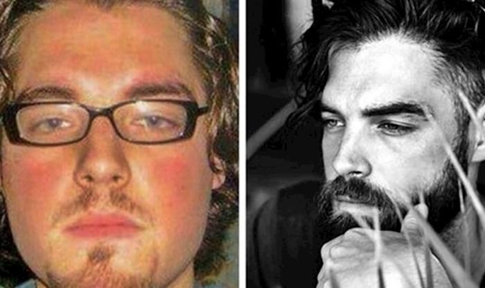 """20 """"prije i poslije"""" fotografija koje prikazuju zanimljive promjene"""