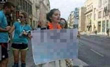 Žena iz Sarajeva smiješnim je natpisom dala podršku mužu koji je trčao maraton
