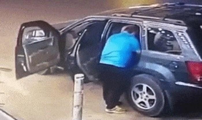 Tata je pomogao kćerkici da izađe iz auta, nakon par sekundi je doživio potpuni šok