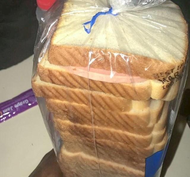 """""""Napravio sam sendvič pa zaboravio gdje sam ga ostavio. Trebalo mi je 10 minuta da ga nađem."""""""