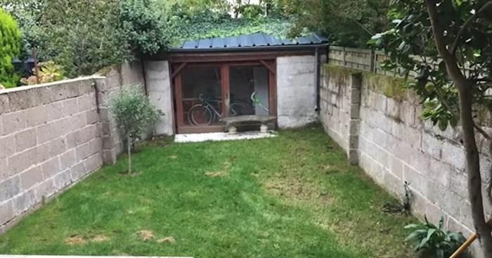 Bojali su se da će svojim radovima uništiti dvorište, no pogledajte što je ovaj čovjek napravio
